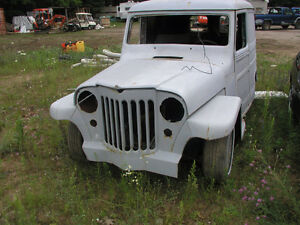 1950 Willys Sedan Delivery lowered