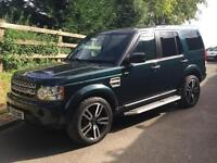 LAND ROVER DISCOVERY 4 3.0 TDV6 COMMERCIAL 12 REG