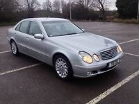 MERCEDES E CLASS E320 CDI DIESEL 54 REG FULL SERVICE HISTORY 2 OWNERS EXCELLENT IN & OUT