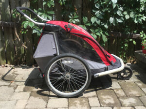 Double bike trailer / stroller (MEC)