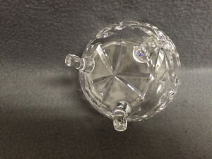 Collectible Antique Beautiful Crystal Candy Dish London Ontario image 4