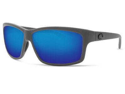d2ada58990 NEW Costa Del Mar CUT Matte Gray   580 Blue Mirror Glass 580G