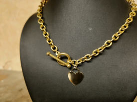 9ct gold tiffany style chain