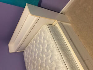 Kids Captain's Bed, Headboard Dresser and Hutch