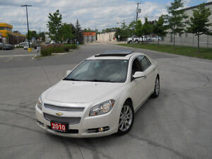 2010 Chevrolet Malibu,LTZ,Leather,Sunroof, 3/Ywarranty availabl.