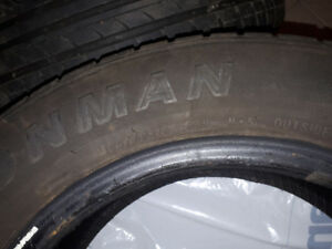 Four Summer tires for sale - 195/60R 15