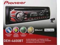 Pioneer Bluetooth/USB/MP3 Car Stereo