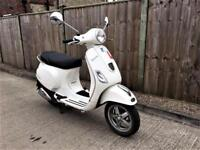 2013 Piaggio Vespa LX 1 OWNER FROM NEW + LOW MILEGE