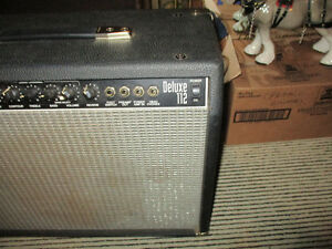 Vintage Fender Deluxe 112 Amplifier--Made in the USA--200 watts Kitchener / Waterloo Kitchener Area image 2