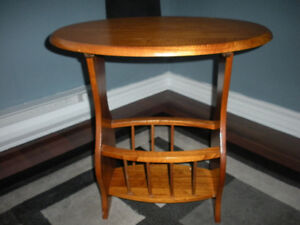 Wooden Magazine Table for sale