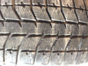 225/60R16 Bridgestone  Blizzack snow tires