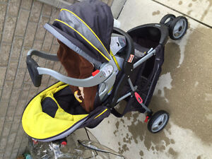 Stroller, base and car seat combo Sarnia Sarnia Area image 1