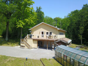 OWN AN EXCELLENT HOME & ONE OF A KIND PROPERTY - 2.41 ACRES