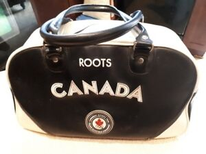 vintage roots - official canadian olympic team bag 2004