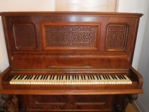 Antique R. S. Willliams and Son Upright Grand Piano