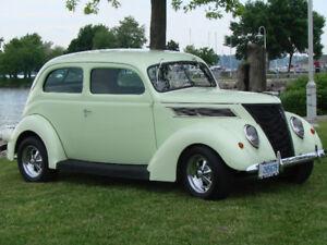 Rare All Steel Body 1937 Ford Tudor Slantbck $26.500 .00