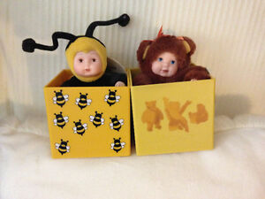 Anne Geddes Baby Bee & Bear in Box (Lot of 2) London Ontario image 4