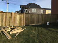Need a fence built, repaired, or posts set?