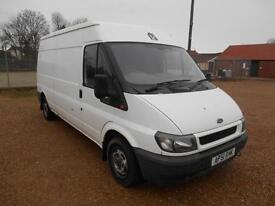 2001 FORD TRANSIT 300 LWB 2.0TD SEPTEMBER 2017 MOT PART X TO CLEAR