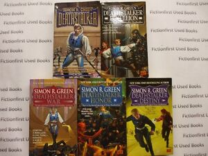 """Deathstalker Series"" by: Simon R. Green"