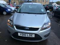 Ford Focus 1.6 ( 100ps ) Zetec 5 DOOR - 2010 10-REG - FULL 12 MONTHS MOT