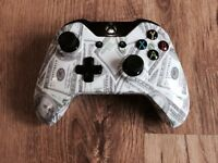 Xbox One Money Maker Hydro dipped controller Pad