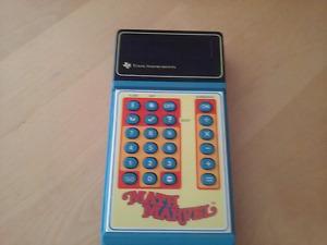 Calculatrice Vintage Math Marvel 1978