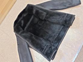Mens Black Jacket - Mint Condition - Size XL