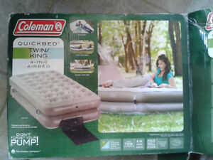 Coleman 4-in-1 Twin/King Airbed