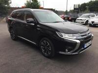 2017 Mitsubishi Outlander 2.0 PHEV GX5hs 5dr Auto Petrol/PlugIn Elec Hybrid blac