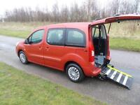 2011 Peugeot Partner Tepee 1.6 HDi EGC Automatic Auto WHEELCHAIR ACCESSIBLE WAV