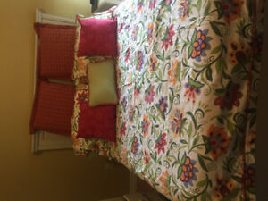 Custom bedding for sale.  Excellent condition