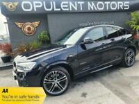 2016 BMW X4 2.0 XDRIVE20D M SPORT 4d 188 BHP Coupe Diesel Automatic