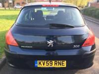 PEUGEOT 308 1.6 VTI S (2009) 5 DOOR LOW MILEAGE