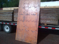 "3/4"" Plywood 4'x8' Sheets Good One Side Varnished"