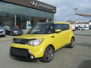 2015 KIA SOUL SX Luxury Sunroof leather air cooled seats navigat