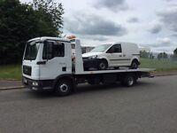 2009-59-Reg man tgl 7-150 model recovery tilt and slide truck 7.5 ton gross