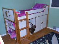 Low Loft Toddler/Youth Bed