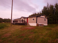 Rent to Own - Boyle AB - New Mobile on private 4 acre lot