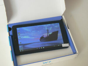 Tablet 7inches Windows 10 Quad Core NEW (open box) 10/10 mint