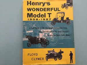 Ford Model T Restoration Book - Henry's Wonderful Model T