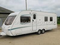 ABBEY SPECTRUM 535, 2004MY, TWIN AXLE, FIXED ISLAND BED, SEPARATE SHOWER, VGC!