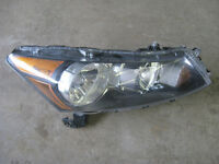 2010 HONDA ACCORD SEDAN PASSENGER SIDE HEADLIGHT