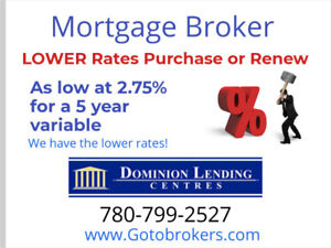 Mortgage Broker Purchase or Renewal