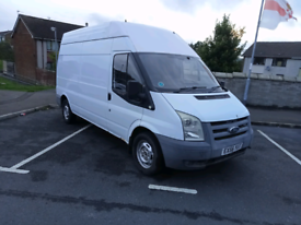 LATE 2006 MK7 FORD TRANSIT LONG WHEELBASE HIGH ROOF PARTS OR REPAIR