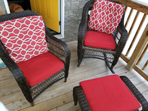 4pc patio set Canvas collection from Canadian Tire