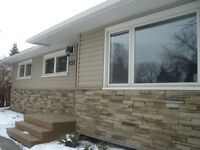 eavestrough soffit siding roofing installation