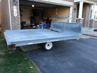 NORTHTRAIL DOUBLE WIDE SNOWMOBILE TRAILER: $1,250 - $1.500