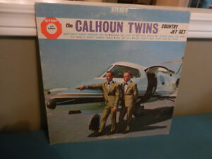 Vinyl Record/LP The Calhoun Twins Autographed
