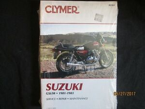 SUZUKI GS650 1981-1983 Service Shop Repair Maintenance Manual